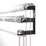 Godox B-3W – Τριπλό σύστημα στήριξης φόντων σε τοίχο με αλυσίδα