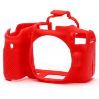 EasyCover camera case για Canon 90D - Red  [ECC90DR]