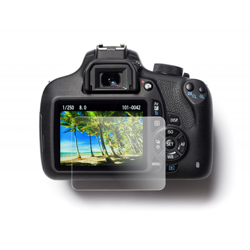 Easycover Tempered Glass Screenprotector for Canon EOS R
