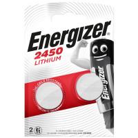 Energizer Μπαταρία λιθίου (κουμπί) CR2450, σε blister με 2 μπαταρίες