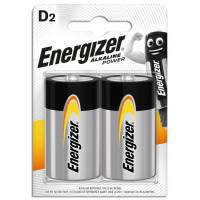 Εnergizer Αλκαλικές μπαταρίες D-LR20, σε blister 2 τεμαχίων