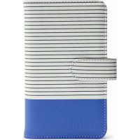 Fujifilm Instax Mini 9 Striped Album Cobalt Blue - 108 Photos