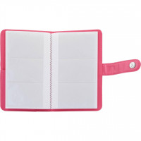 Fujifilm Instax Mini 9 Striped Album Flamingo Pink - 108 Photos
