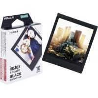 Fujifilm Instax Square Instant Film - Black Frame (10 Shots)