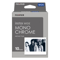 Fujifilm Instax Wide Film Monochrome (10 Exposures)