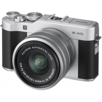 Fujifilm X-A5 Camera kit with XC 15-45mm OIS PZ Lens  - Black/Silver (16568896)