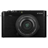 Fujifilm X-E4 Mirrorless Digital Camera with 27mm Lens (Black)