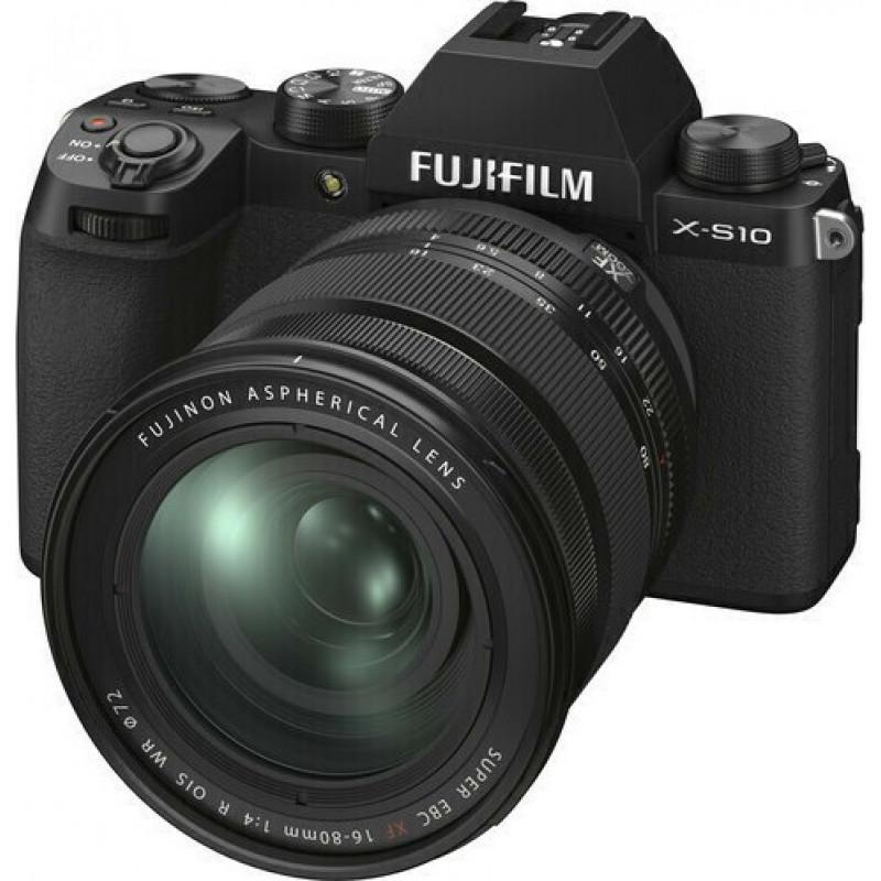 Fujifilm X-S10 Camera Kit with XF 16-80mm f/4 R OIS WR [140465]