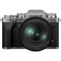 Fujifilm X-T4 Camera kit with XF 16-80mm f/4 R OIS WR OIS Lens - Silver [16652908]
