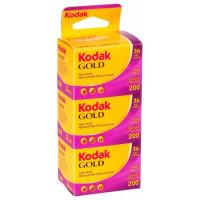 Kodak Gold film 200 ISO 135/36 - Συσκευασία 3τεμ