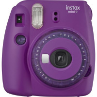 Fujifilm Instax mini 9 - Purple with Clear Accents