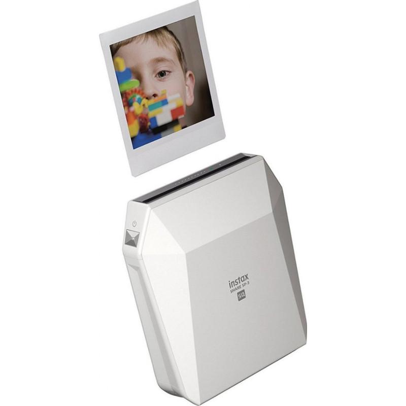 Fujifilm Instax SHARE Smartphone Printer SP-3 - White
