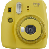Fujifilm Instax mini 9 - Yellow with Clear Accents