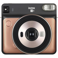 Fujifilm instax SQUARE SQ6 Instant Film Camera (Blush Gold)