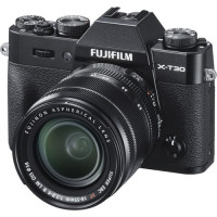 Fujifilm X-T30 Mirrorless Digital Camera with 18-55mm Lens (Black) - 16619920