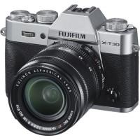 Fujifilm X-T30 Mirrorless Digital Camera with 18-55mm Lens (Silver) - 16619786