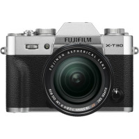 Fujifilm X-T30 Mirrorless Digital Camera with 18-55mm Lens (Silver) - 16619786