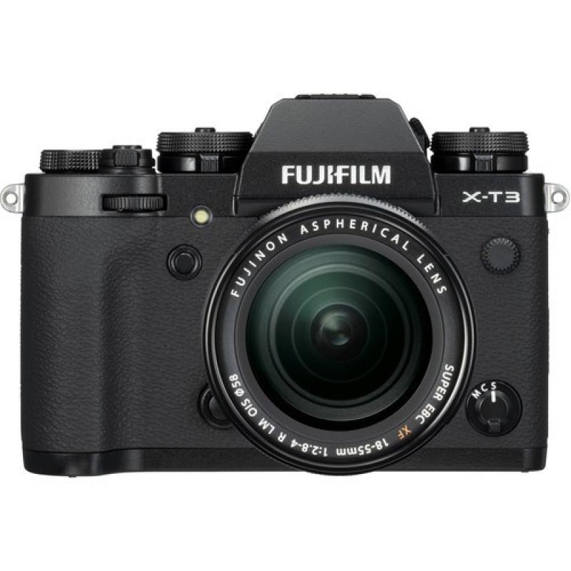 a849a68210 Fujifilm X-T3 Mirrorless Digital Camera kit with 18-55mm Lens - Black