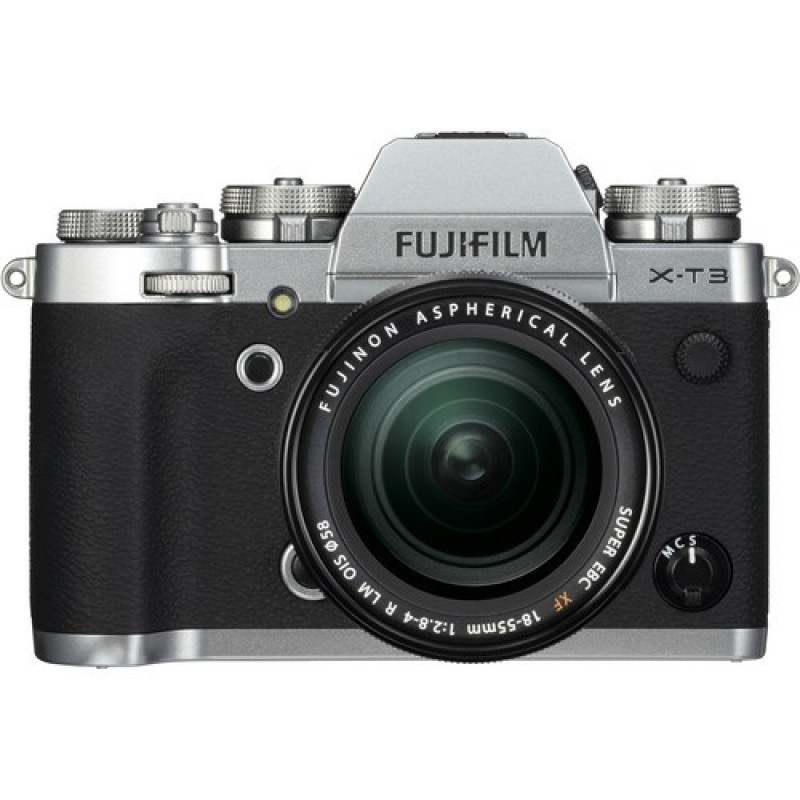 Fujifilm X-T3 Mirrorless Digital Camera kit with 18-55mm Lens  - Silver
