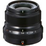 Fujifilm Fujinon XF 23mm f/2 R WR - Black
