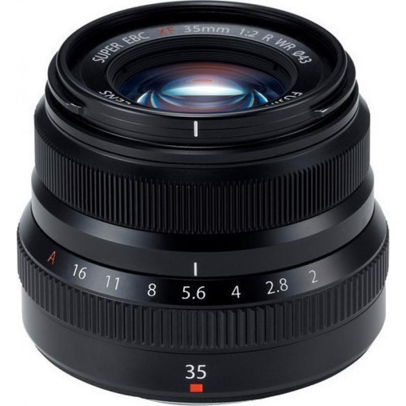 Fujifilm XF 35mm f/2R WR Lens Black