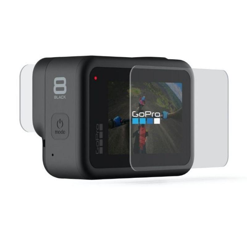 GoPro Tempered Glass Lens + Screen Protectors for GoPro Hero8 Black