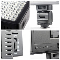 Accpro 160 Led Video Light [HD-160]