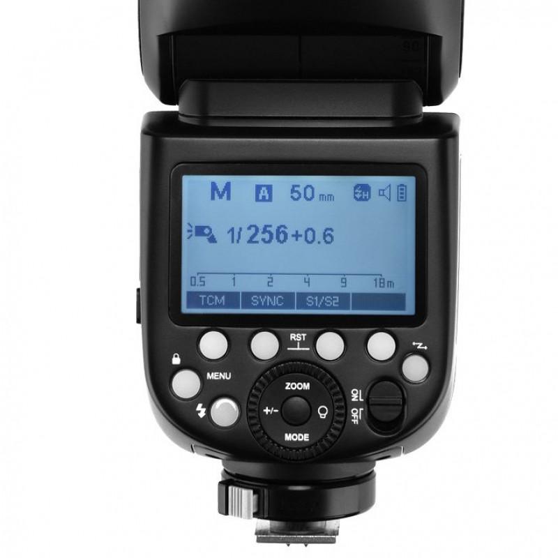Godox V1-N - TTL Flash για Nikon μηχανές με μπαταρία λιθίου