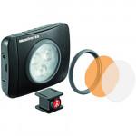 Manfrotto Lumimuse 3 On-Camera LED Light με μπαταρία λιθίου