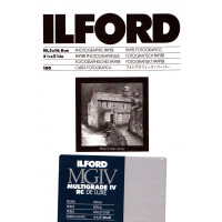 Ilford Multigrade IV RC Deluxe 10x15 100 Sheets Pearl Paper