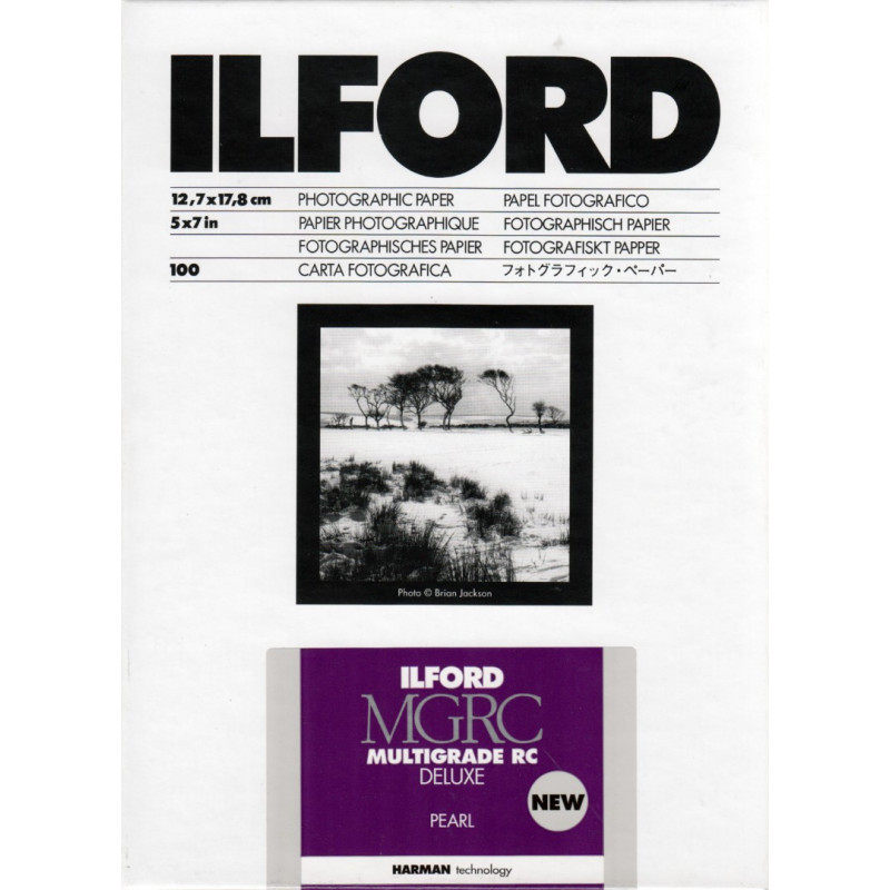 Ilford Multigrade IV RC Deluxe 13x18 100 Sheets Pearl Paper [HAR1771019]