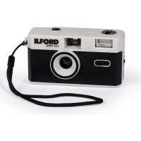 Ilford Sprite 35-II Film Camera (Black & Silver)