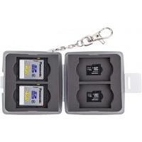 JJC MC-11D Memory Card Case (Fits 4 x SD + 4 x Micro SD Cards)
