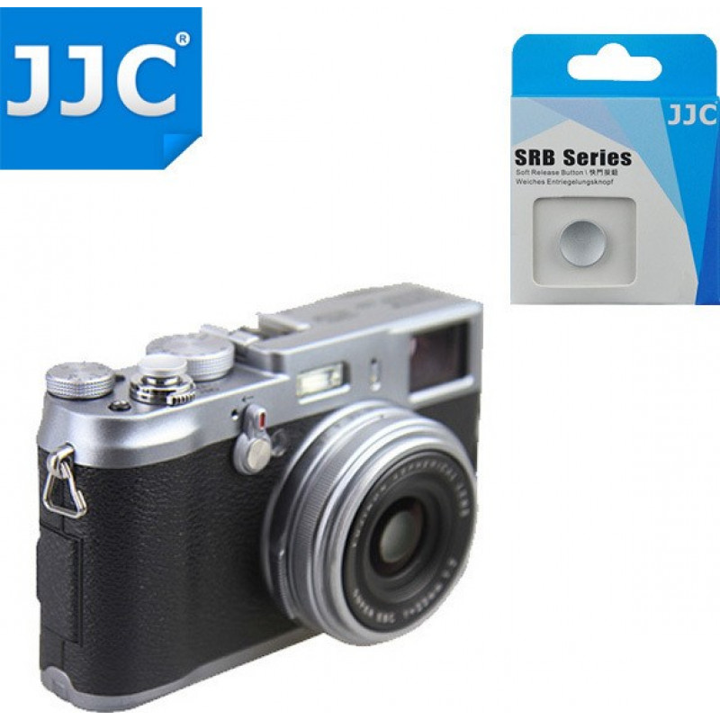 JJC SRB-C11 Soft Release Button - Silver
