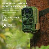 K&F KF-401F WiFi Trail Camera 5 Million Sensor 24MP 1296P HD Outdoor Wildlife Monitoring Waterproof Night Infrared Vision Hunting Camera