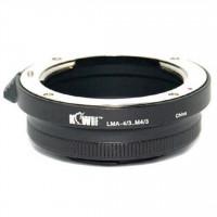KiwiFotos Four Third Lens 4/3 to Micro 4/3 body LMA-4/3_M4/3