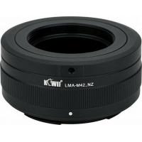 KiwiFotos M42 Lens to Nikon Z body LMA-M42_NZ