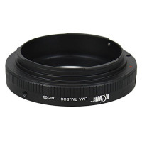 Kiwifotos  mount adapter T/T2 Mount lens to Canon Camera TM_EOS