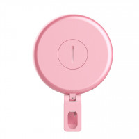 Kunla LED Selfie Ring Light με USB και καθρέφτη - Pink [KL-10-P]