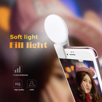 Kunla Selfie LED Light MiniQ - White [KL-MQ-W]