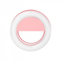 Kunla LED Selfie Ring Light με USB  - Pink [KL-RK14-P]