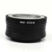 Leinox M42 Mount Lens to Canon EOS M EF-M Mirrorless Camera adapter