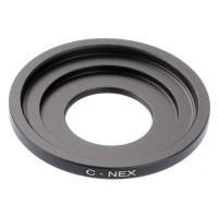 Leinox C-Mount Adapter Lens to Sony E-mount (NEX) Camera