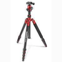 Manfrotto Τρίποδο Element Traveller Big MKELEB5RD-BH  - Red