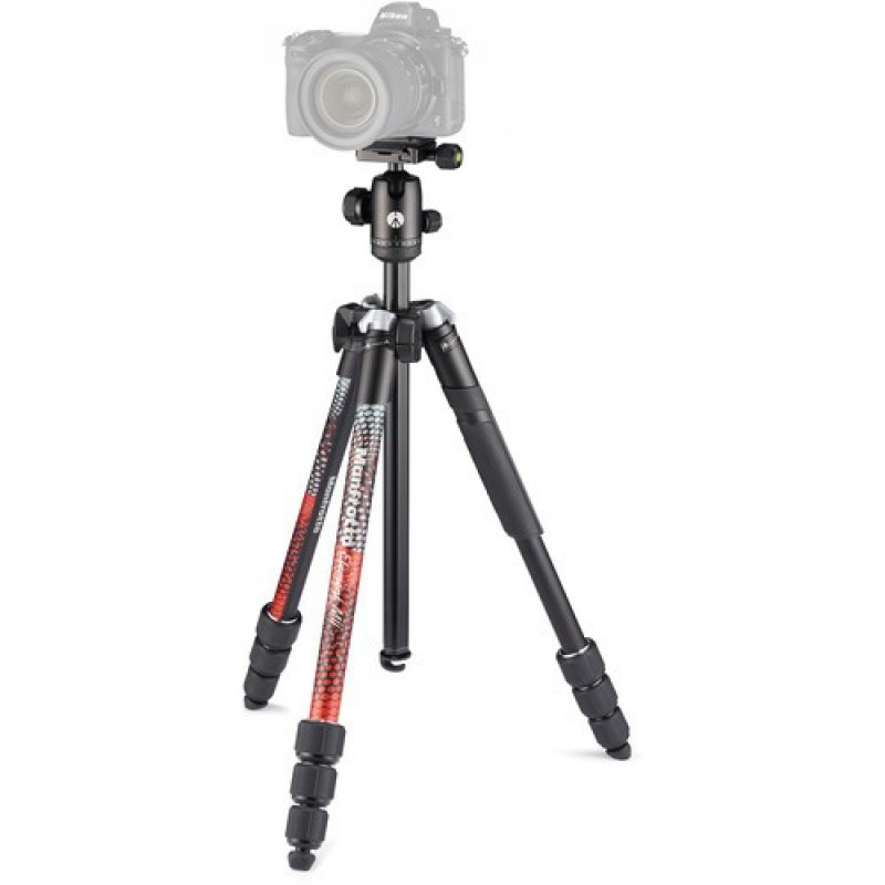 Manfrotto Element MII Aluminum Tripod with Ball Head - Red