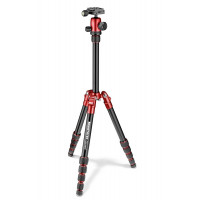Manfrotto Τρίποδο Element Traveller Small MKELES5RD-BH - Κόκκινο