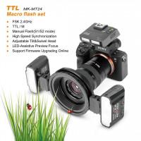Meike MK-MT24 Macro Twin Lite Flash for Sony Multi