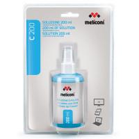 Meliconi C-200 Υγρό Καθαρισμού 200 ml και Πανί με Μικροΐνες