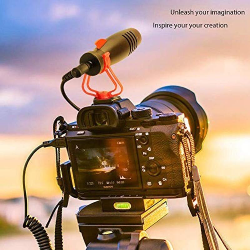 MovingMic MiniShark Μικρόφωνο για Camera/DSLR/Camcorders/Smartphone - MS1