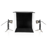 NEDIS SKT012WT - Αναδιπλούμενο στούντιο φωτογράφισης 60x60cm